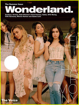 Fifth Harmony Are Fresh-Faced for 'Wonderland' Summer Cover