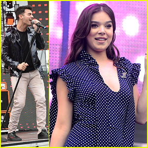 Hailee Steinfeld & DNCE Hit Wango Tango With 'Rock Bottom'