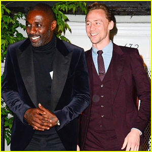 Idris Elba & Tom Hiddleston Buddy Up At Anna Wintour's Home Before Met Gala!
