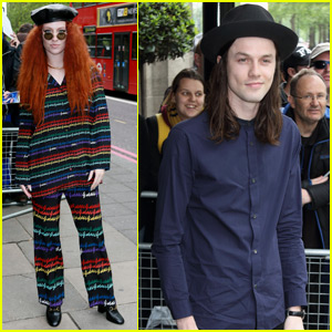 James Bay & Jess Glynne Arrive at Ivor Novello Awards 2016
