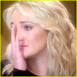 Jamie Lynn Spears Tearfully Talks About Getting Pregnant at 16