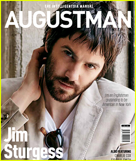 Jim Sturgess Covers 'August Man' Magazine (Exclusive)