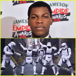 John Boyega Celebrates 'Star Wars Day' with Funny Storm Trooper Video!