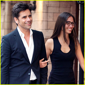 John Stamos & Girlfriend Caitlin McHugh Look So Happy for Date Night in London!
