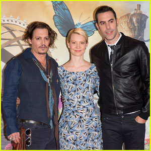 Johnny Depp & Mia Wasikowska Bring 'Alice Through The Looking Glass' to London