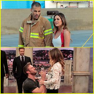 JoJo Fletcher Goes on Firefighting & Football Dates on Tonight's 'The Bachelorette' (Photos)