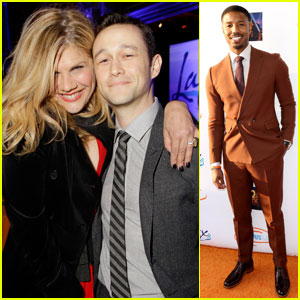 Joseph Gordon-Levitt & Michael B. Jordan Suit Up for Lupus LA's Orange Ball 2016