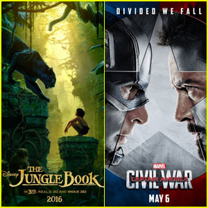 'The Jungle Book' Keeps No. 1 Box Office Spot, 'Captain America: Civil War' Debuts Huge Overseas