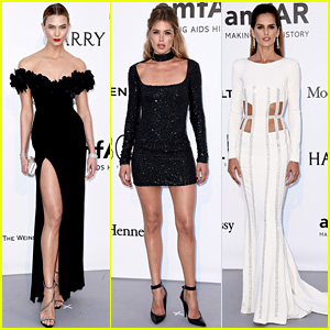 Karlie Kloss & Doutzen Kroes Step Out for Cannes amfAR Gala 2016