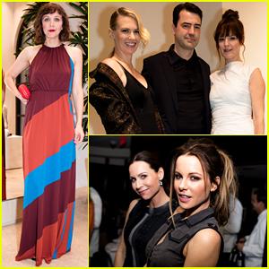 Kate Beckinsale, January Jones & Maggie Gyllenhaal Celebrate Bottega Veneta Store Opening!