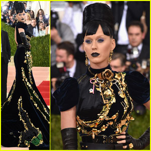Katy Perry Wears a Tamagotchi on Her Met Gala 2016 Dress!