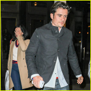 Katy Perry & Orlando Bloom Bring Their Love to the Big Apple