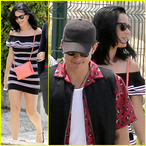 Katy Perry & Orlando Bloom Enjoy the Day at Cannes