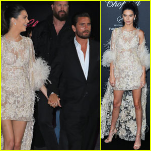 Kendall Jenner & Scott Disick Hold Hands at Cannes Yacht Party