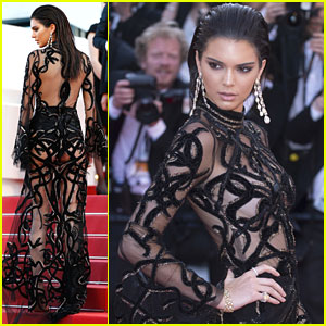 Kendall Jenner Wows In Sheer Dress After Jet-Skiing In Cannes