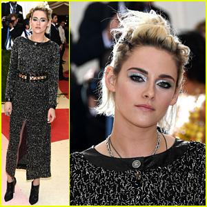 Kristen Stewart Shines in Chanel at Met Gala 2016