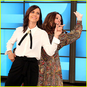 Kristen Wiig & Melissa McCarthy Dance Around for Hilarious 'Heads Up' Game with Ellen DeGeneres!