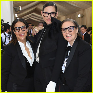 Lena Dunham Rocks a Tux to Met Gala 2016