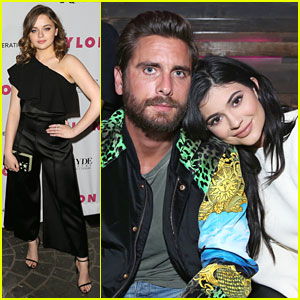 Kylie Jenner Brings Scott Disick To Nylon's Young Hollywood Party