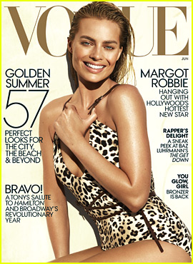 Margot Robbie Wears a Sexy Swimsuit for 'Vogue' June Cover!