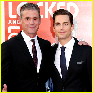 Matt Bomer & Husband Simon Halls Couple Up for 'Nice Guys' Hollywood Premiere!