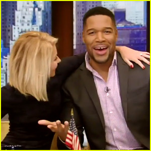 Michael Strahan Says His Goodbye to 'Live!' & Kelly Ripa (Video)