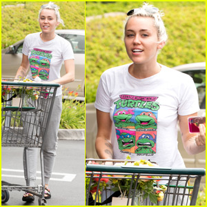 Miley Cyrus Steps Out After Liam Hemsworth Says 'Everyone's Happy'