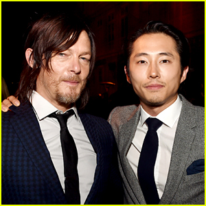 Walking Dead's Norman Reedus & Steven Yeun Help Car Crash Victims