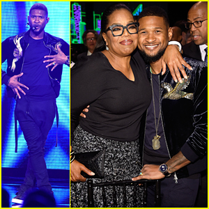 Oprah & Usher Help Raise $61 Million At Robin Hood Fund Gala!