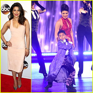 Priyanka Chopra & Miles Brown Pay Tribute to Prince at ABC Upfronts