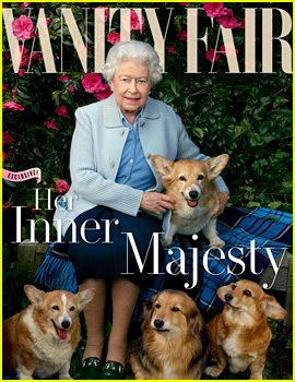 Queen Elizabeth Covers 'Vanity Fair' with Her Beloved Dogs!