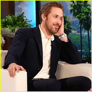 Ryan Gosling Talks About Newborn Baby Girl on 'Ellen' (Video)