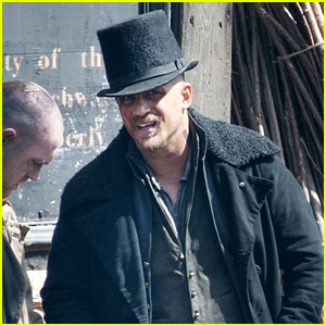 Tom Hardy Gets Bloodied Up for Series 'Taboo' Filming