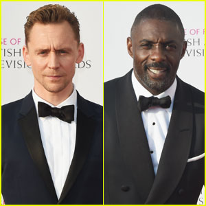 Tom Hiddleston & Idris Elba Suit Up in Style for British Academy Television Awards 2016