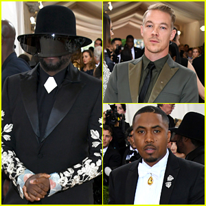 will.i.am Wears a Tinted Visor Over His Face at Met Gala 2016