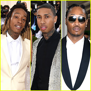 Wiz Khalifa, Tyga & Future Suit Up for Met Gala 2016