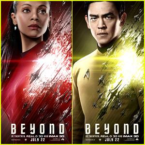 Zoe Saldana Gets a 'Star Trek Beyond' Character Poster