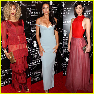 Laverne Cox & Adriana Lima Dress Up for Fragrance Foundation Awards