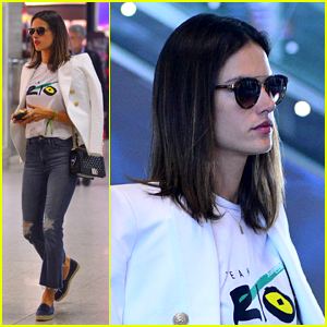 Alessandra Ambrosio Supports Education Access in Brazil