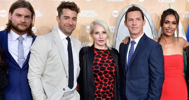 Ellen Barkin Scott Speedman Premiere Animal Kingdom In Venice