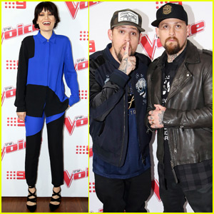 Benji & Joel Madden Kick Off 'The Voice Australia' With Jessie J