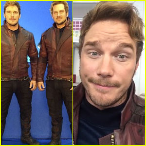 Chris Pratt Celebrates 'Guardians 2' Wrap with Fun Set Photos!