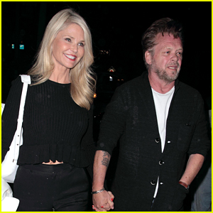 Christie Brinkley & John Mellencamp Hold Hands on Date Night