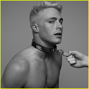 Colton Haynes Shows Off Bleach Blond Hair in Sexy New Tyler Shields Photo Shoot