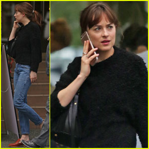 Dakota Johnson Meets Up With Jamie Dornan's Wife for Sushi