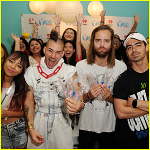 DNCE Hits Miami With Cupcake & Toothbrush Party