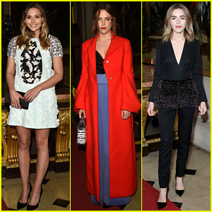Elizabeth Olsen & Riley Keough Step Out for Dior Cruise Show