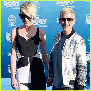 Ellen DeGeneres Premieres 'Finding Dory' in Hollywood