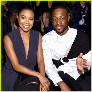 Gabrielle Union & Dwyane Wade Sit Front Row for Public School Fashion Show