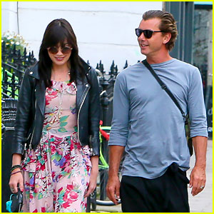 Gavin Rossdale Spends Quality Time with Daughter Daisy Lowe